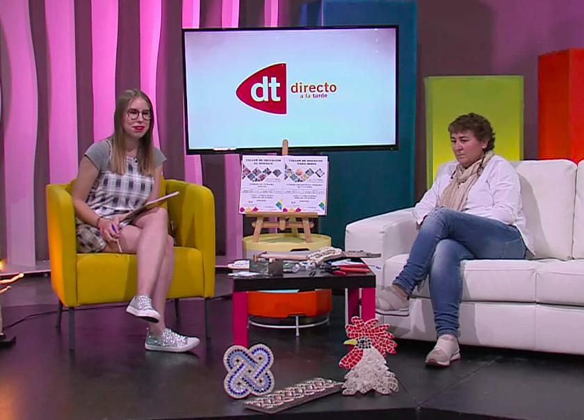 Entrevista con Canal 12 | Talleres de Mosaico
