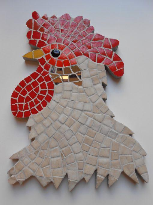 Mosaico Gallo de Brujas 3 | Arte del Mosaico Gallo de Brujas número 3 de la seria realizado de forma totalmente artesanal.