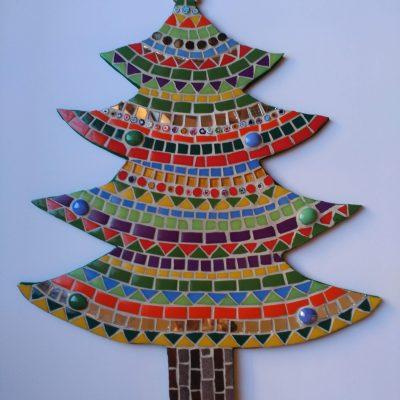 Árbol de Navidad | Arte del Mosaico.Mosaico Árbol de Navidad | Arte del Mosaico. Realizado de forma totalmente artesanal.