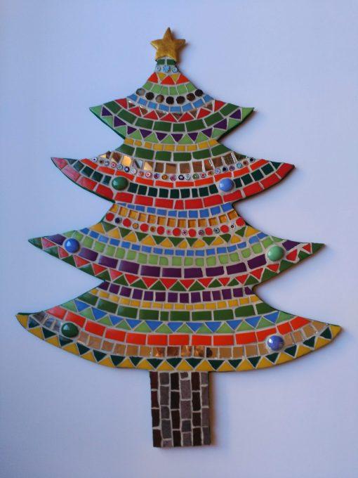 Árbol de Navidad   Arte del Mosaico.Mosaico Árbol de Navidad   Arte del Mosaico. Realizado de forma totalmente artesanal.