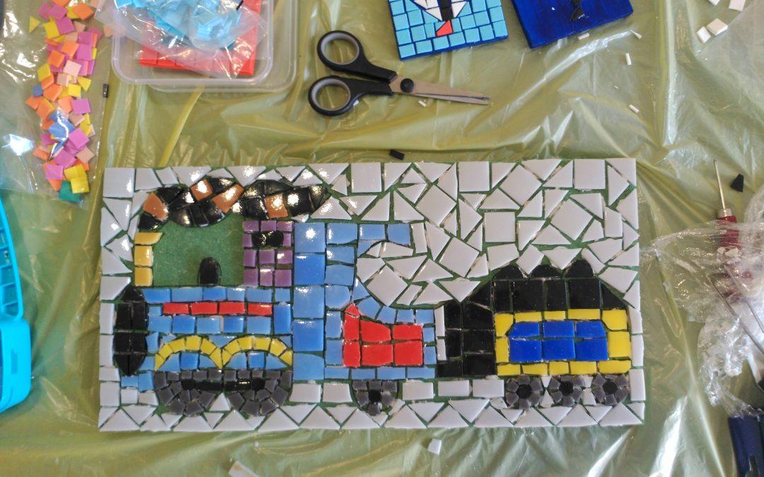 Taller Infantil de Mosaicos . Taller Infantil de Mosaicos Verano 2018