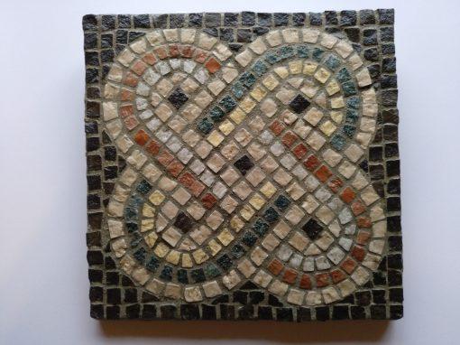 mosaico nudo de Salomón cuadrado
