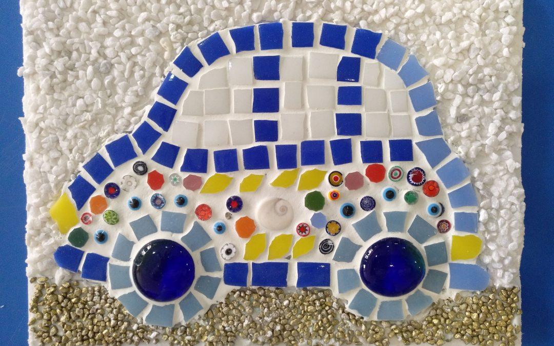 Taller de mosaico infantil semana santa 2019