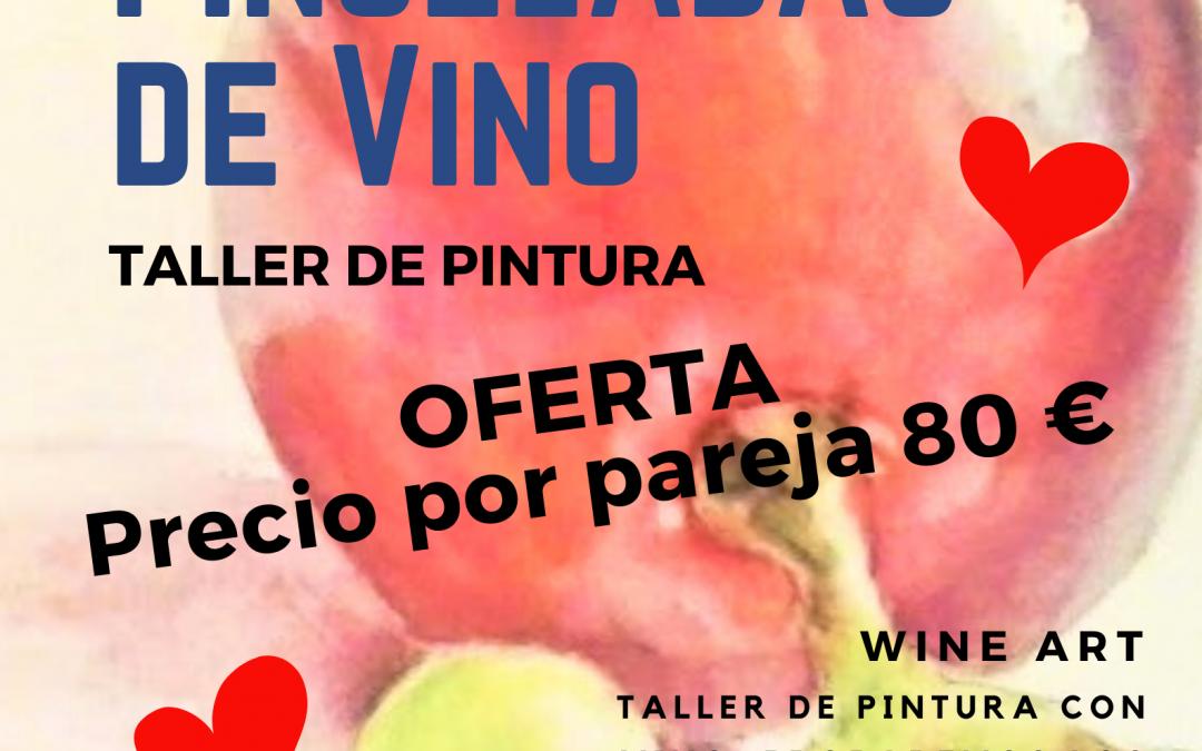 Pinceladas con Vino