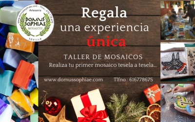 REGALA UN TALLER DE MOSAICO POR NAVIDAD