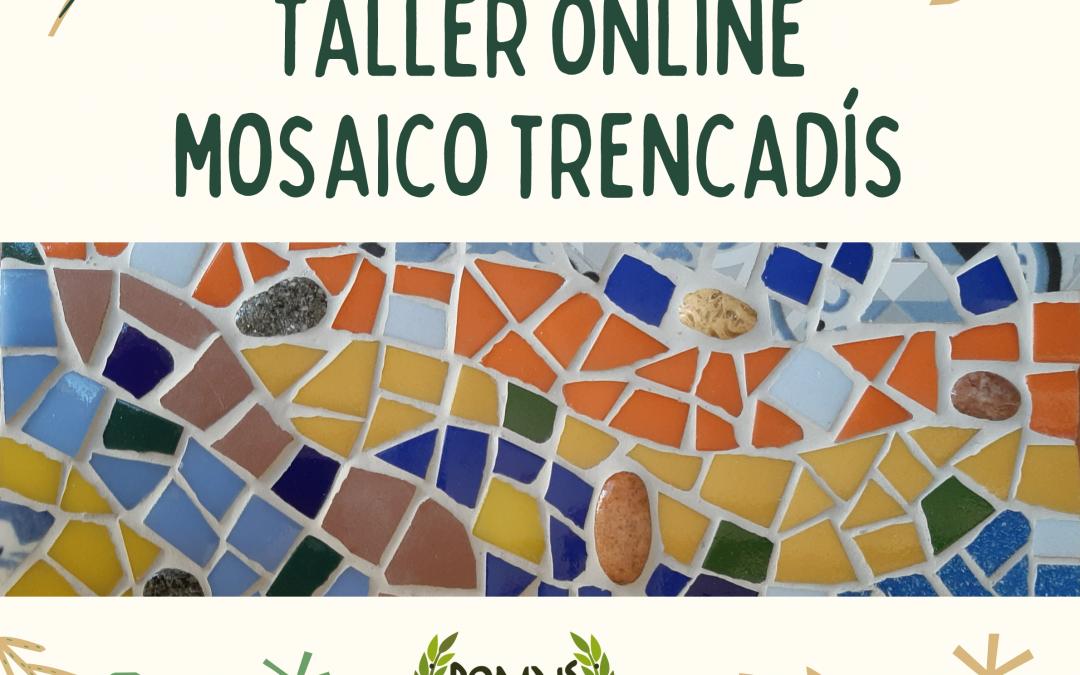 CURSO ONLINE MOSAICO TRENCADÍS
