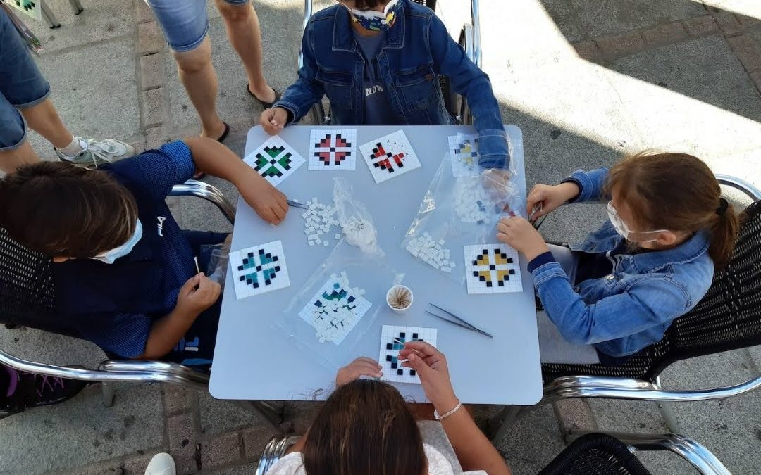 Taller Infantil de Mosaico Casar de Cáceres